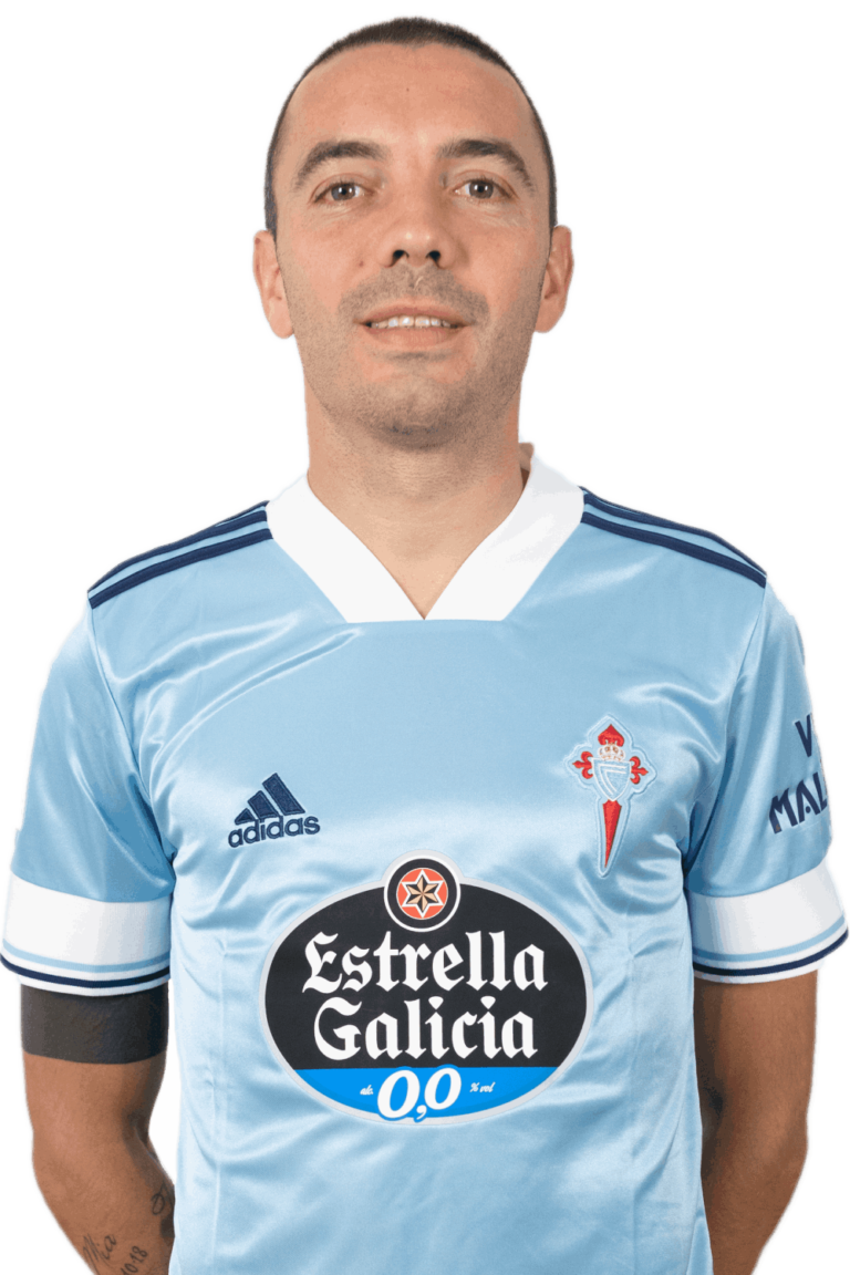 Image of Iago Aspas player posing