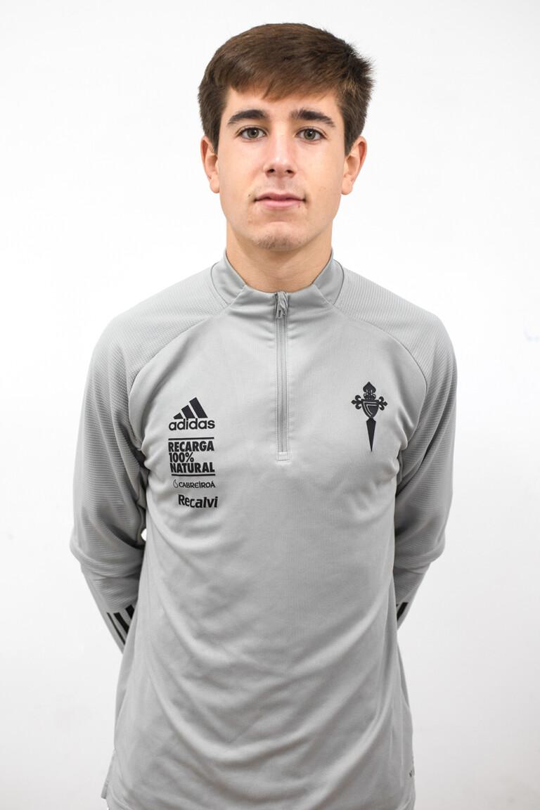 Imágen del jugador Pablo González Meixús posando