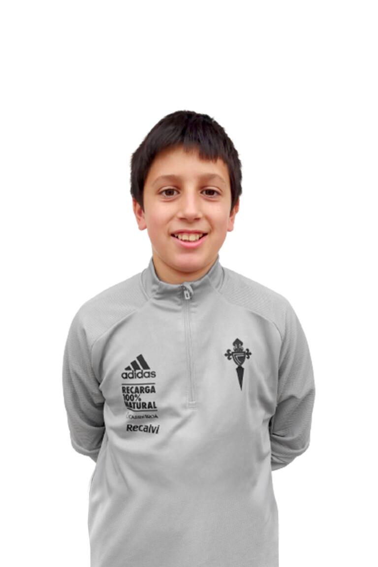 Imágen del jugador Miguel Rodríguez Cuevas posando