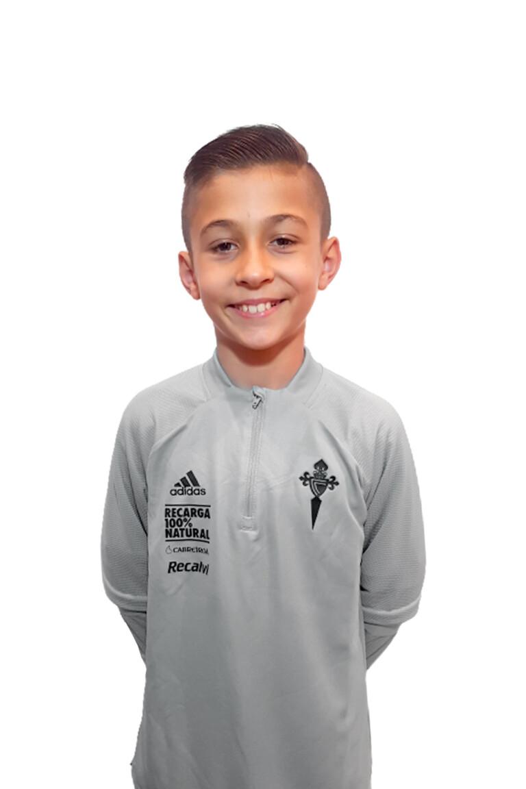 Imágen del jugador Bruno Martínez Márquez posando