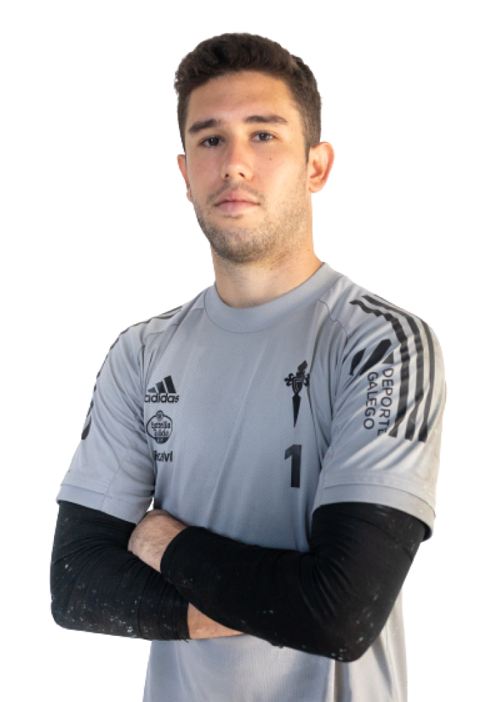 Image of Á. Fernández player posing