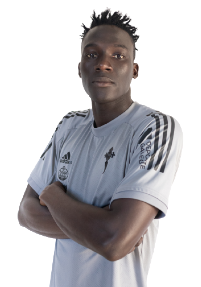 Image of S. Cissé player posing