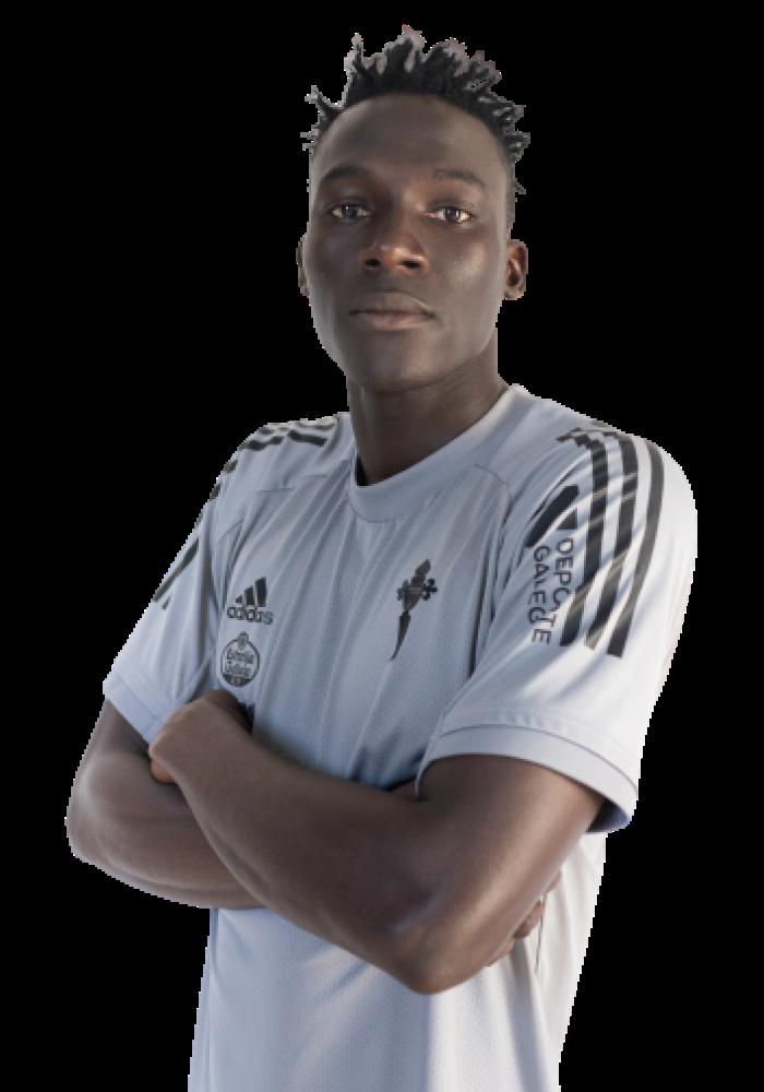 Imágen del jugador S. Cissé posando