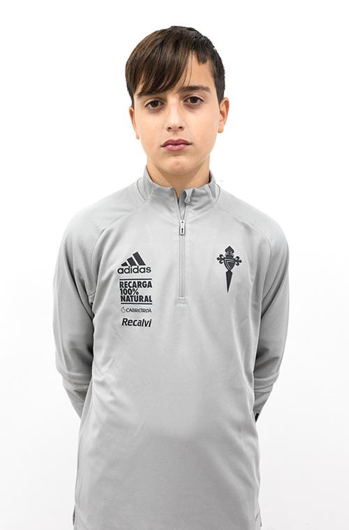Image of Hugo Nuñez García player posing