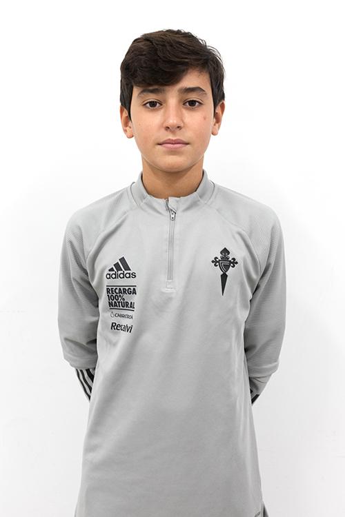 Image of Óscar Vázquez Piñeiro player posing