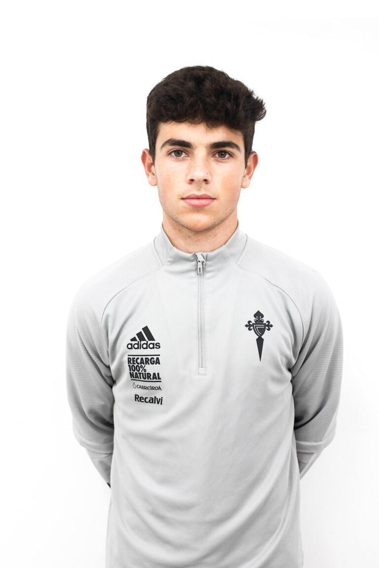 Image of Brais Penela Fernández player posing