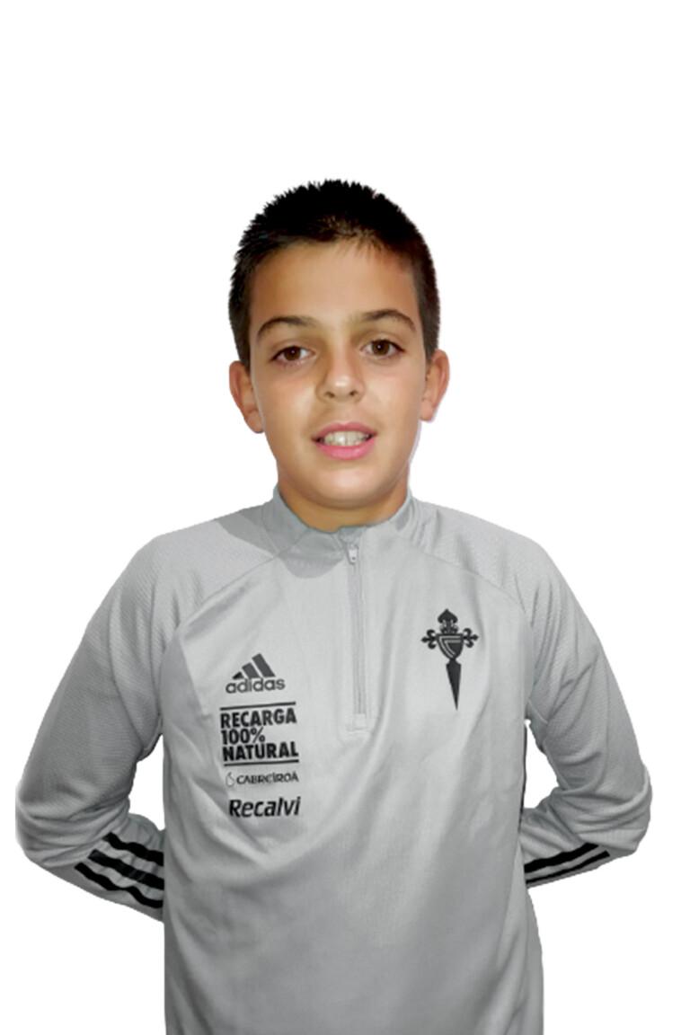 Imágen del jugador Jaime Pérez Martínez posando