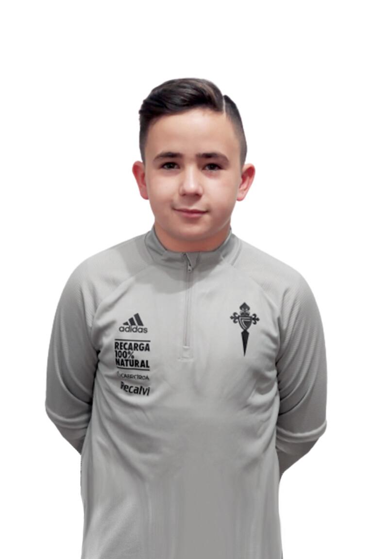 Imágen del jugador Ízan Pastoriza Otero posando