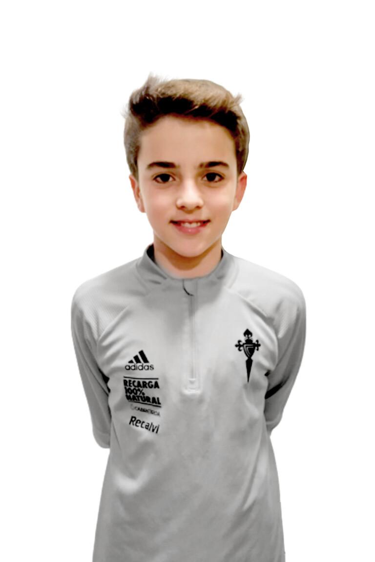 Imágen del jugador Pedro Ildefonso García Álvarez posando