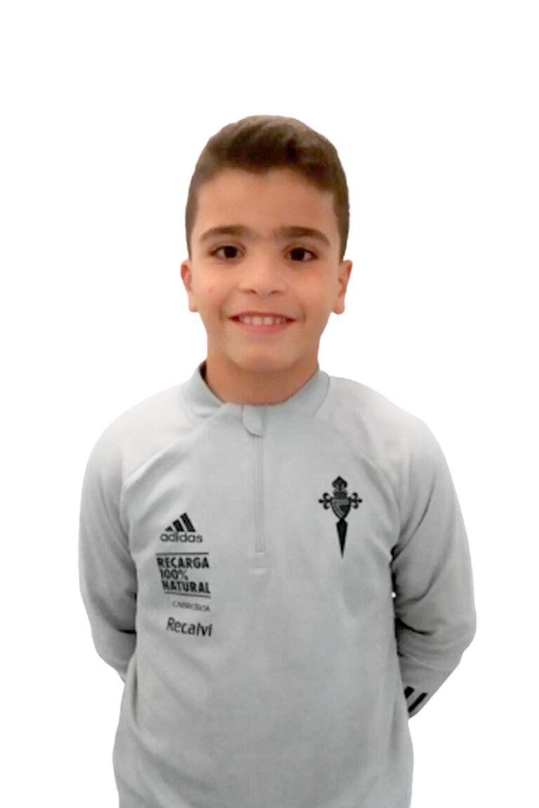 Imágen del jugador Nicolás Pérez Pereira posando