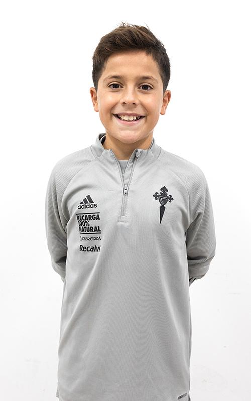 Image of Breixo Fuentes Gesteiro player posing