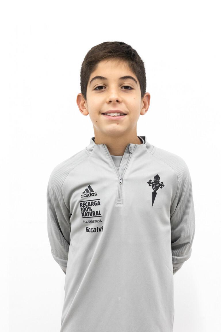 Imágen del jugador Bryan Bugarín Gonçalves posando