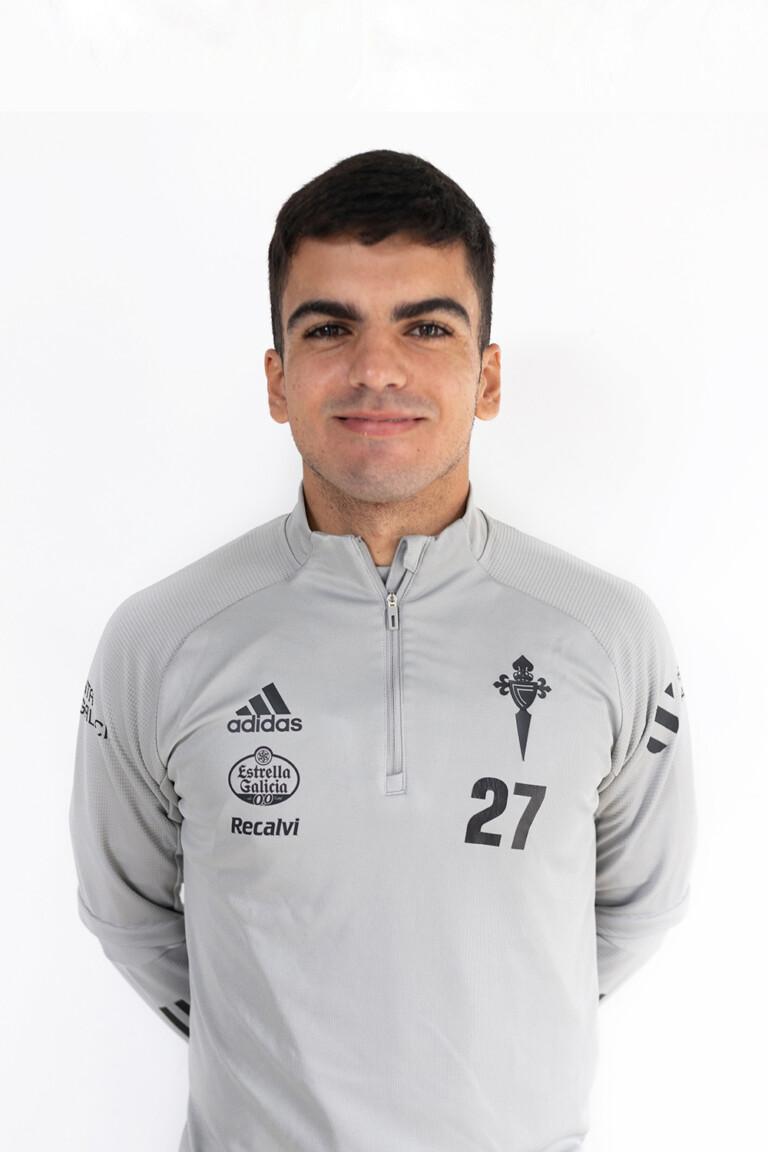 Imágen del jugador Damián Rodríguez Sousa posando