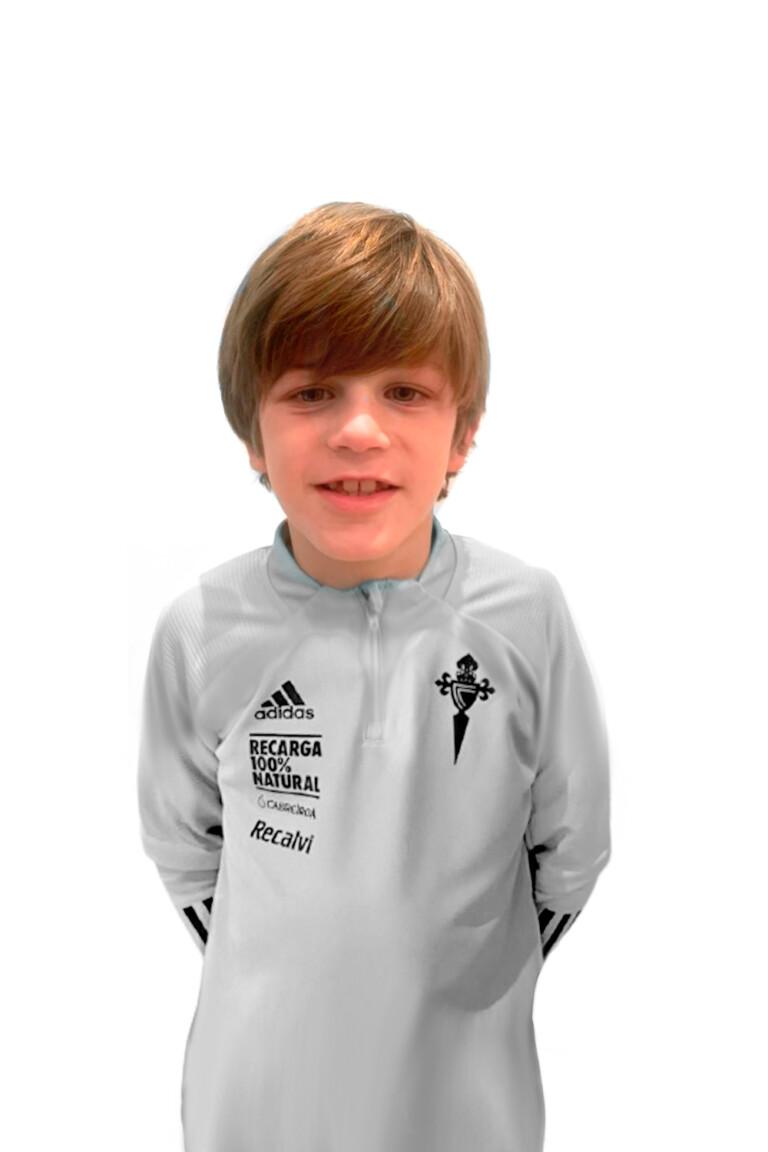 Imágen del jugador Jacobo García Fernández posando