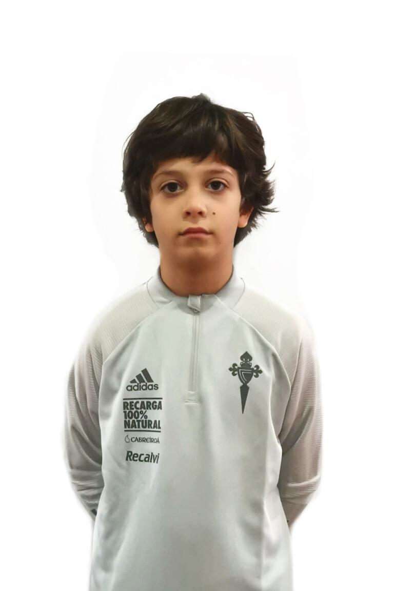 Imágen del jugador Pedro Rodríguez Agulla posando