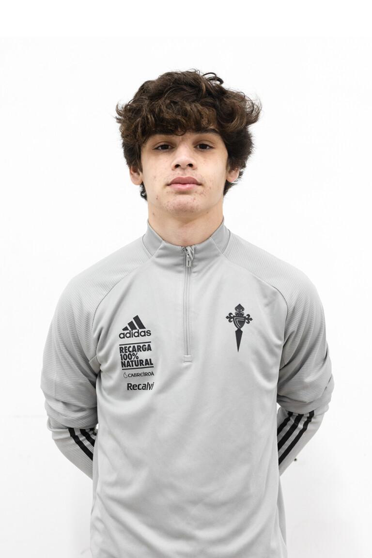 Imágen del jugador Yago Rodríguez Pérez posando