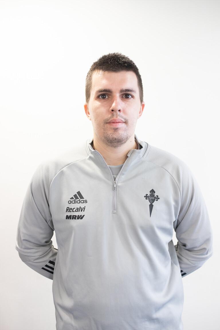 Imágen del jugador Brais Lourido Mariño posando