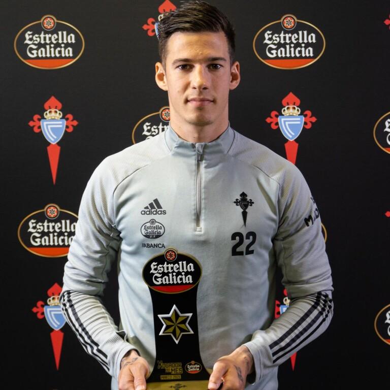 santi mina jugador estrella Galicia marzo web 1x1